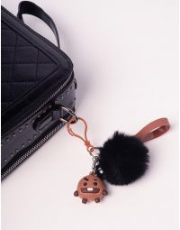 Брелок на сумку BTS з хутряним помпоном | 237368-12-XX