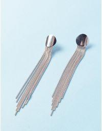 Сережки довгі із ланцюжків | 235324-05-XX