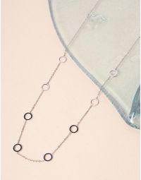 Підвіска на шию довга з кільцями | 239802-05-XX