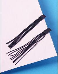 Сережки довгі плетені | 235979-02-XX