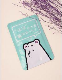 Маска для обличчя з принтом медведя | 236792-37-XX