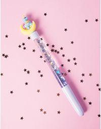 Ручка з блискітками та єдинорогом | 237181-19-XX