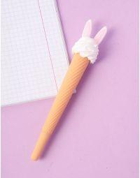 Ручка  у вигляді морозива з вушками | 237193-14-XX