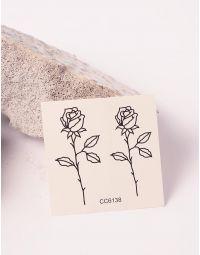 Тату тимчасове з малюнком троянд | 238199-02-XX