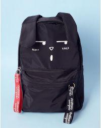 Рюкзак з принтом зайця та довгими вухами | 235743-02-XX