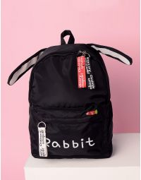 Рюкзак з вушками та написом на кишені | 233445-02-XX