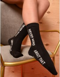 Шкарпетки з написом | 235270-02-XX