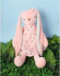 Іграшка зайченя у сукні | 236553-14-XX