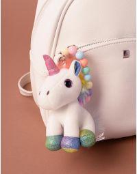Брелок на сумку у вигляді єдинорога з кольоровими намистинами | 238217-01-XX