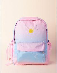 Рюкзак молодіжний з зірочками та місяцем | 236387-14-XX