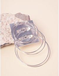 Сережки кільця в наборі | 237775-05-XX