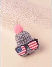 Брошка у вигляді шапки | 237414-11-XX