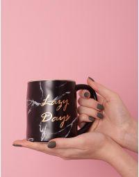 Чашка з написом lady days | 235786-02-XX