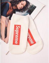 Шкарпетки з написом supreme | 237635-01-XX