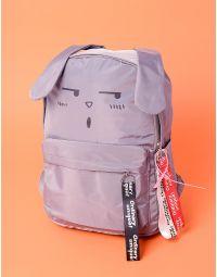 Рюкзак з принтом зайця та довгими вухами | 235743-11-XX