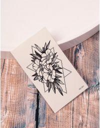 Тату тимчасове із зображенням квітів | 238191-02-XX