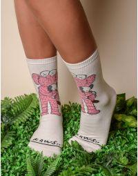 Шкарпетки з молодіжним принтом | 238381-88-XX