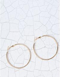 Сережки конго середнього розміру | 227834-04-XX