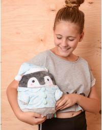 Іграшка м яка у вигляді пінгвіна у піжамі | 237696-18-XX