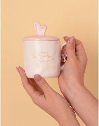 Чашка на 450 мл з вушками на кришці | 233893-01-XX