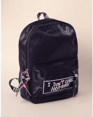 Рюкзак для міста з написом на кишені | 238549-02-XX