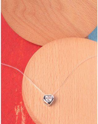 Підвіска з кулоном у вигляді серця | 227018-06-XX