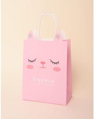 Пакет подарунковий a shop | 237922-17-XX