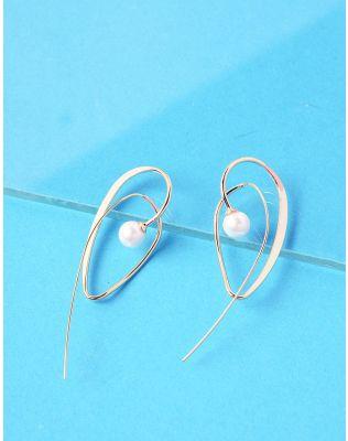 Сережки з перлинами   236831-08-XX