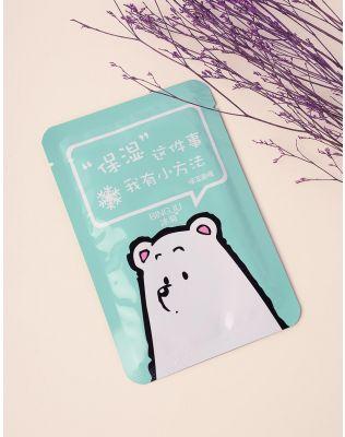 Маска для обличчя з принтом медведя   236792-37-XX