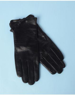Перчатки кожаные стильные   234660-02-09
