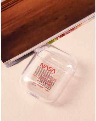 Чохол для навушників прозорий з написом nasa | 238055-15-XX