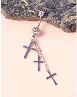 Пірсинг у пупок з хрестами | 236776-10-XX
