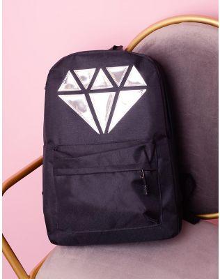 Рюкзак для міста з зображенням діаманта   236644-02-XX