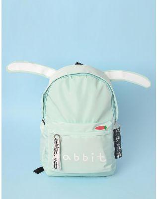 Рюкзак з вушками та написом на кишені   233445-37-XX