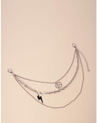 Підвіска чокер із ланцюжків з кулонами | 238580-06-XX