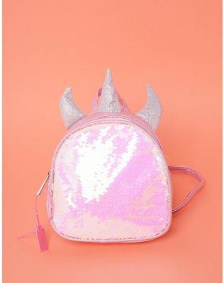 Рюкзак для прогулянок із паєток у вигляді єдинорога | 237612-14-XX