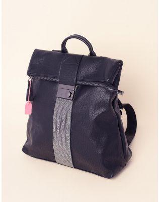 Рюкзак стильний зі стразами | 237650-02-XX