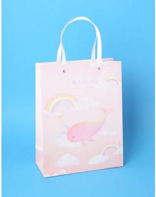 Пакет з малюнком кита єдинорога | 236619-14-XX