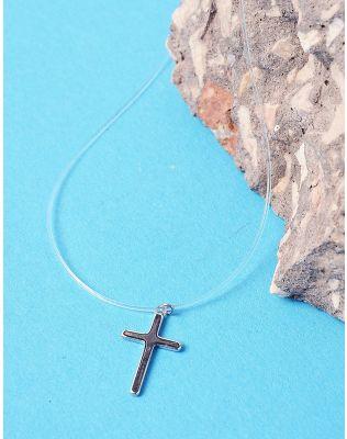 Підвіска з волосіні з хрестиком | 225906-05-XX