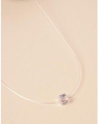 Підвіска з волосіні з кулоном у вигляді куба | 226146-06-XX