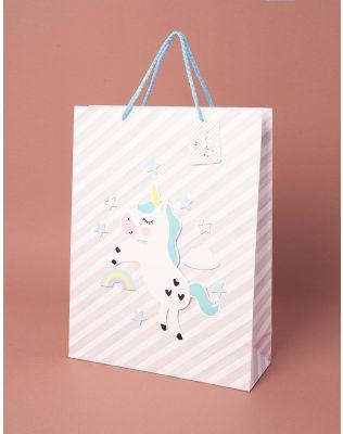 Пакет подарунковий  з молодіжним принтом | 237832-11-15