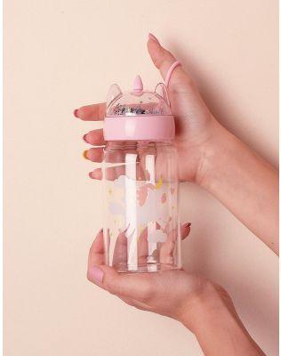 Пляшечка на 350 мл у вигляді єдинорога | 238170-14-XX