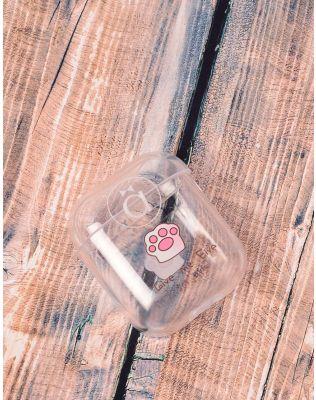 Чохол для навушників прозорий з молодіжним принтом | 238056-14-XX