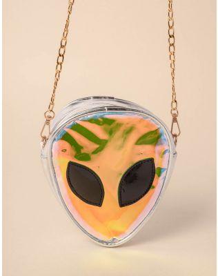 Сумка на ланцюжку у вигляді інопланетянина   237951-05-XX