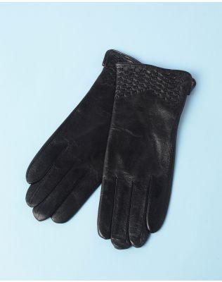 Перчатки кожаные с перфорацией   234632-02-07