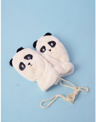 Рукавички підліткові із зображенням панди | 238478-01-XX