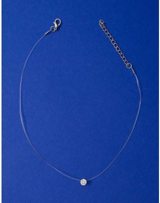 Підвіска з волосіні з кристалом у кулоні | 223737-06-XX