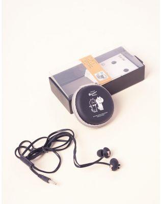Навушники у чохлі з малюнком кота | 237360-02-XX