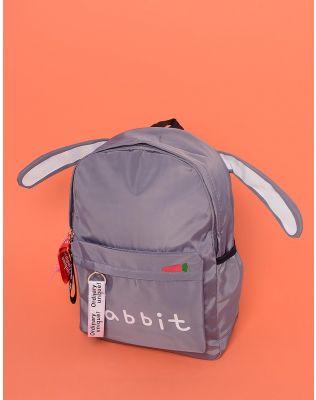 Рюкзак з вушками та написом на кишені   233445-11-XX