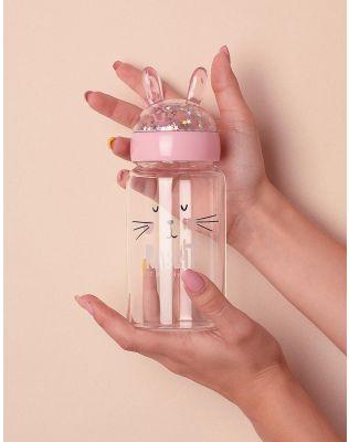 Пляшечка з вушками з принтом зайця | 235682-14-XX